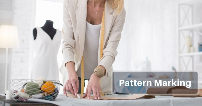 Pattern Marking in apparel production