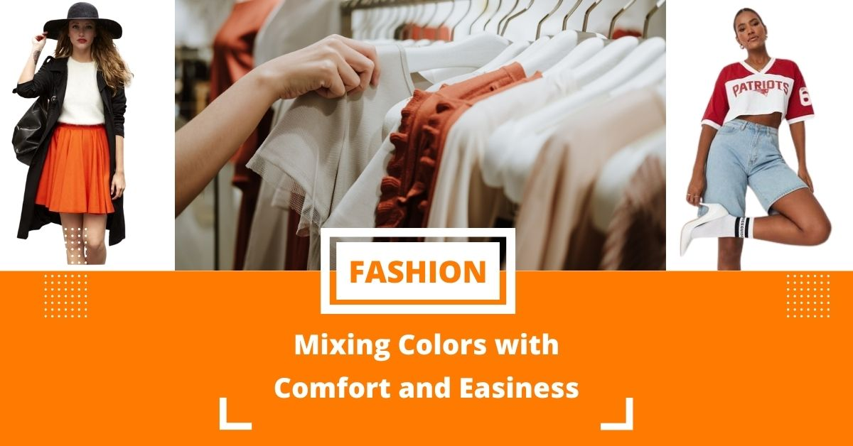 Mixing Colors with Comfort and Easiness