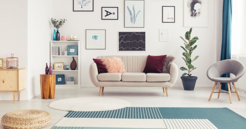 Right Rug style coordinate with decor Home