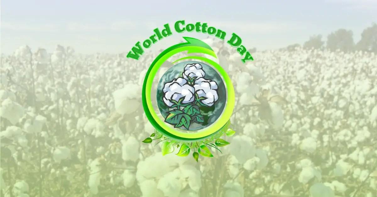 World Cotton Day Banner