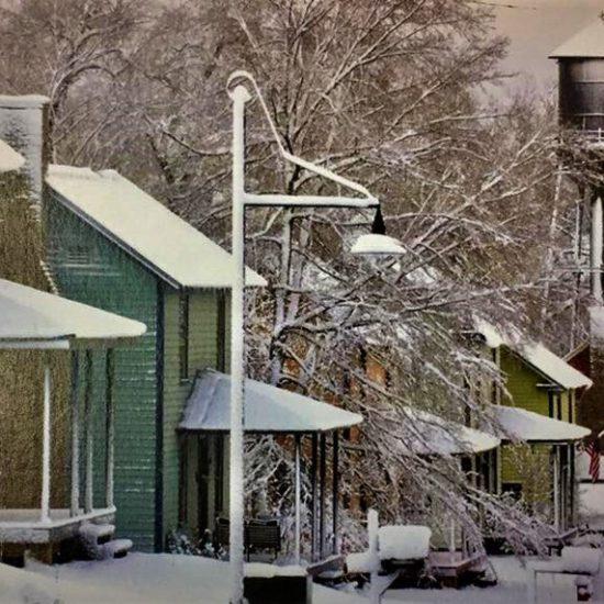thm sm mill village winter