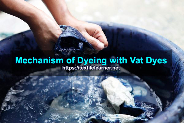 Mechanism of Dyeing with Vat Dyes