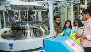 knitting machinery lab