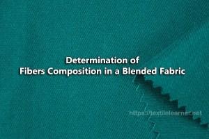 Determination of Fibers Composition