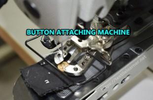 button attaching machine