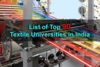 List of Top Textile Universities in India | Textile/Apparel/Fashion Colleges/Institutes in India