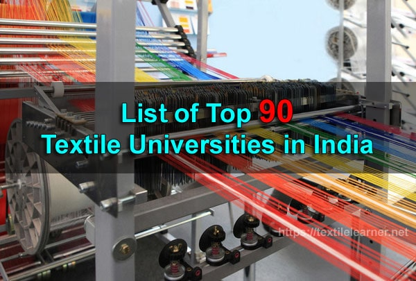 Top Textile Universities in India