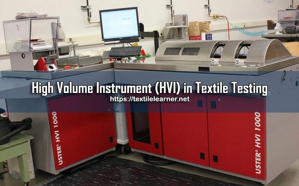 high volume instrument hvi