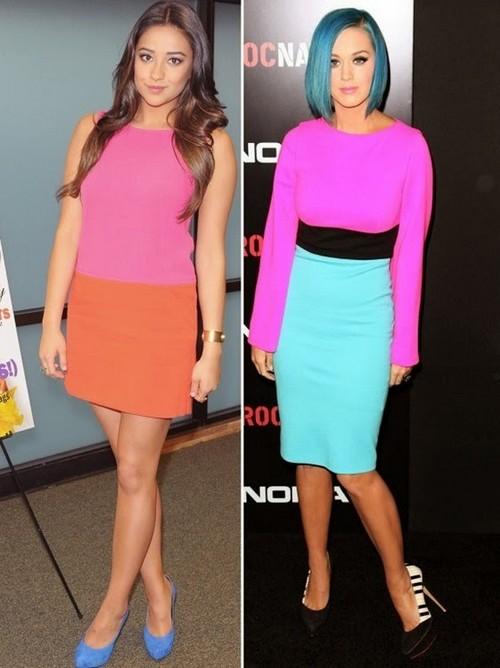 Colour Block Fashion Trend