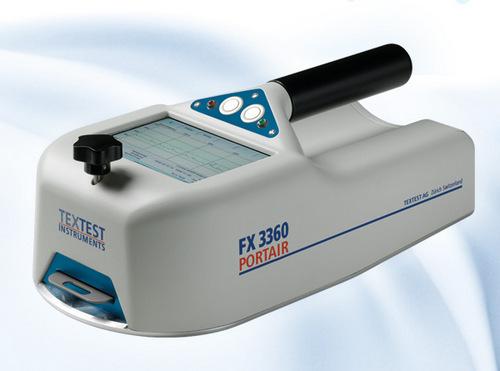 Air Permeability Tester PORTAIR FX3360