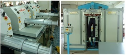 machine to produce whiskering effect