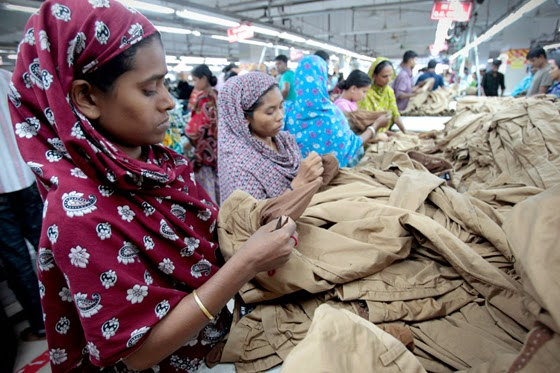 quality assurance department in garment