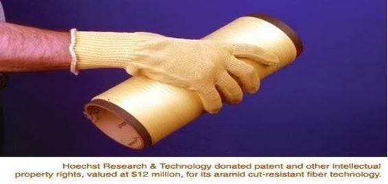Cut resistance aramid fiber
