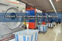 Different Types of Garment Washing Machine
