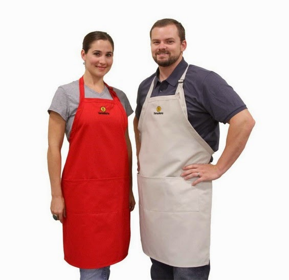 Apron in use of professional chefs