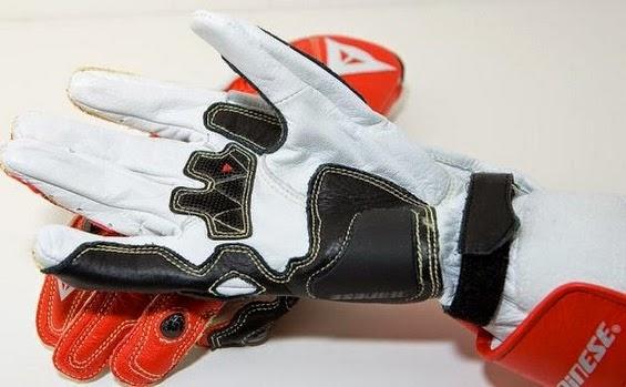 Racing glove (palm)