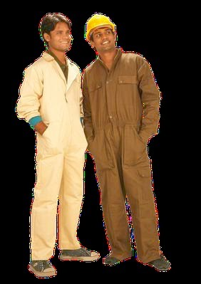 Two different variations in an Industrial Work wear