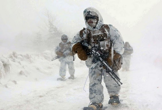 cold weather training