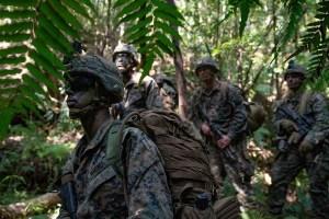 combat uniform for tropical regions
