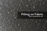 Mechanism and Factors Affecting the Pill Formation on Fabric