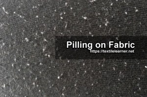 Pill Formation on Fabric