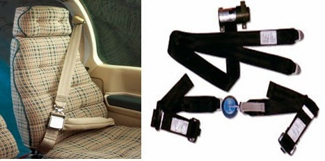 Aircraft seat belt