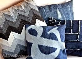 Recycled denim fabric