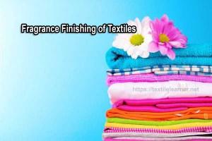 Fragrance Finishing of Textiles