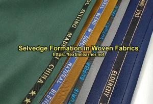 selvedge in woven fabrics