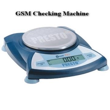 GSM checking machine