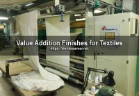 Value Addition Finishes for Textiles