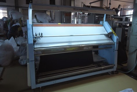 Inspection Machine for knit fabrics