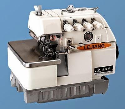 Overlock stitching machine