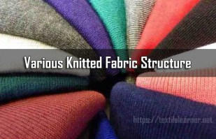 Various Knitted Fabric Structure