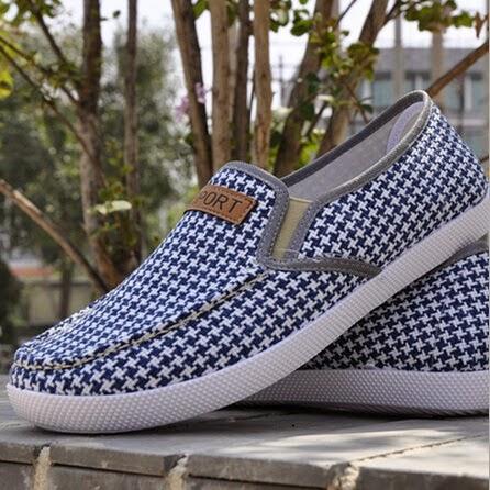 Linen shoe