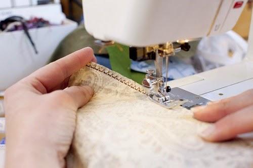 Sewing garments