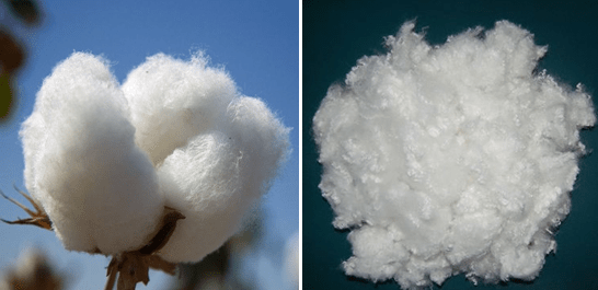 natural fiber vs man made fiber