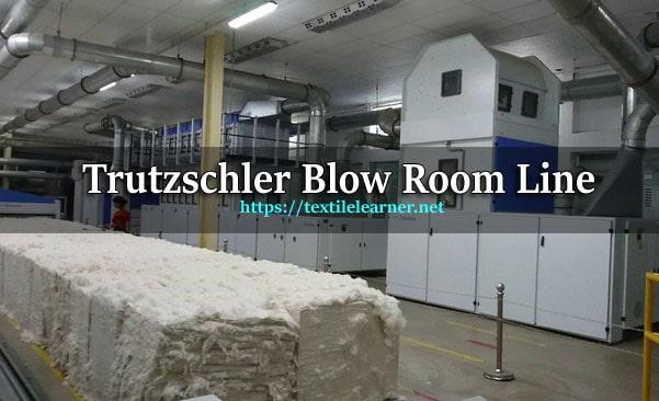 Trutzschler Blow Room Line