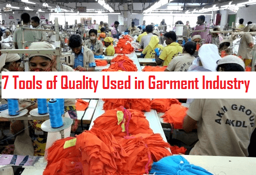 7 Tools of Quality in Garment