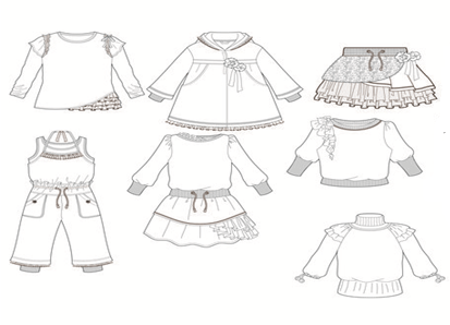 Apparel design for fashion students