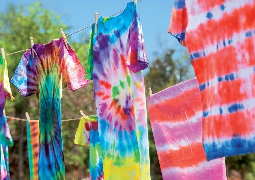 Tie Dyed Cloth
