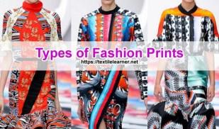 Types of Fashion Prints