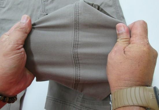 Garment seam strength