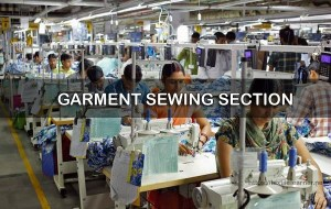 Sewing section