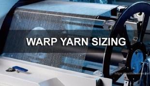 warp yarn sizing