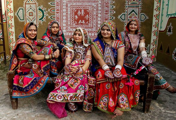 Traditional dress of Gujarat