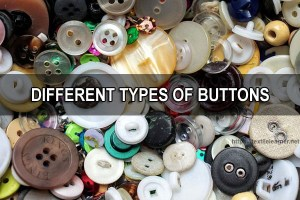 Different Types Of Buttons