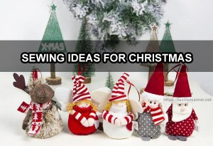 Sewing Ideas for Christmas