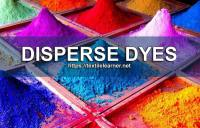Disperse Dyes: Properties, Classification, Dyeing and Printing Method