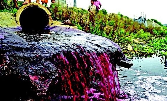 wastewater of textile industry